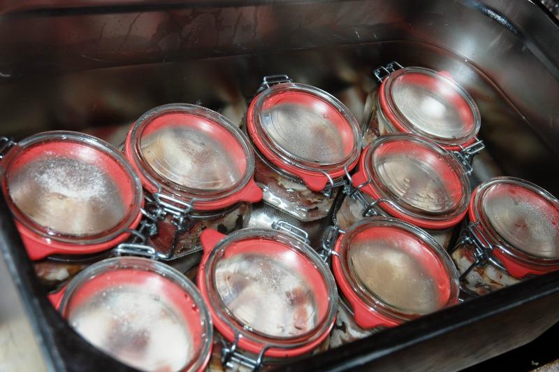Zavařování masa do sklenic