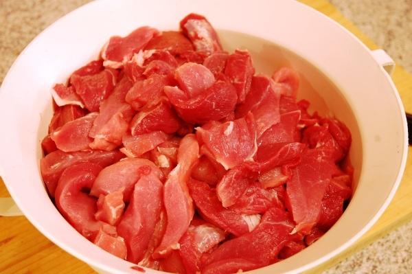 Maso na domácí šunku