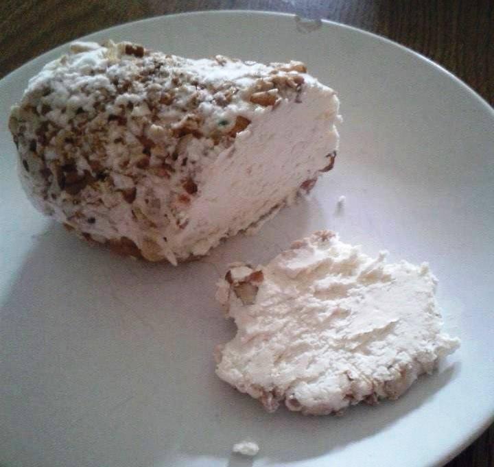 Sýr z domácího tvarohu