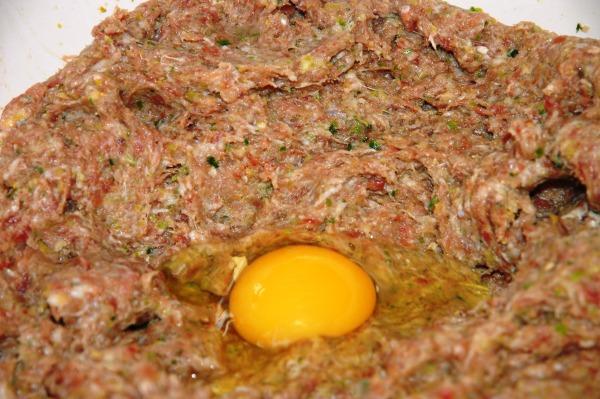 Vajíčko do sekané
